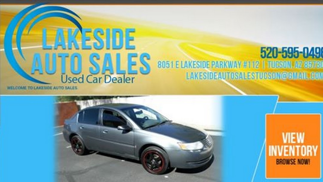 Parkway Auto Sales >> Lakeside Auto Sales Used Car Dealer In Tucson