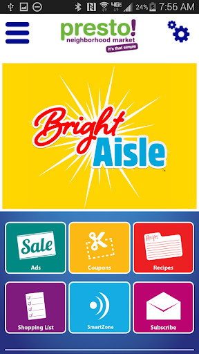 Bright Aisle Grocery Companion