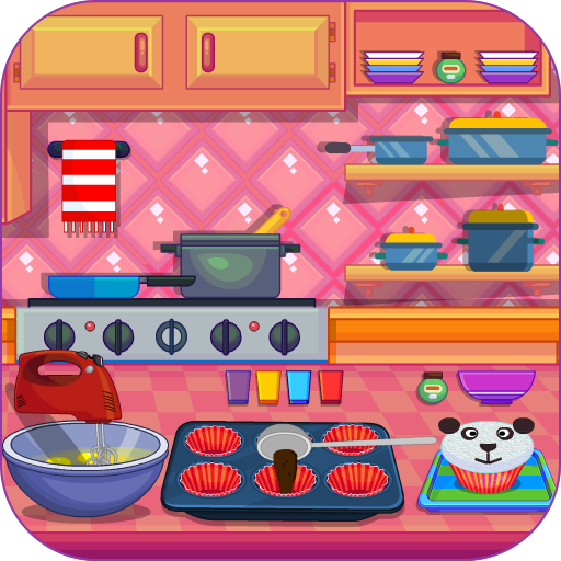 Cooking Little Panda Cupcakes (game)