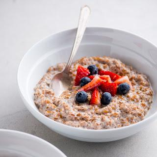 Brown Sugar and Cinnamon Bulgur Breakfast Bowl