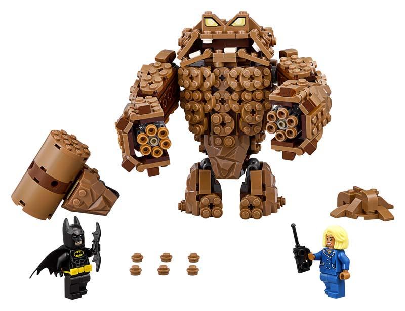 Contenido de Lego® 70904 Ataque Cenagoso de Clayface™