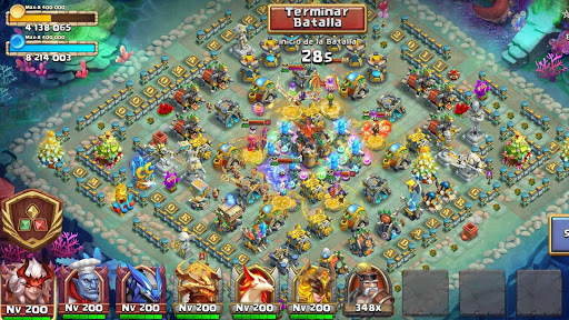 Castle Clash: Epic Empire ES 1.6.44 screenshots 15