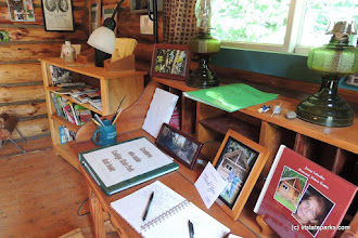 Photo: Please remember to sign the guest book at the nature center in Coolidge State Park by Tara Schatz