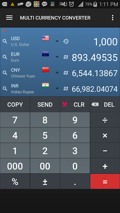 google play card currency how to convert
