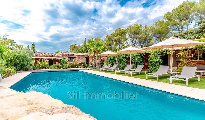Villa avec piscine et terrasse Trans-en-Provence