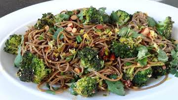 Cherry Sesame Noodles with Lemon-Hoisin Sauce
