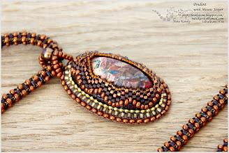 Photo: Pendant with Mosaic Jasper - Кулон з мозаїчною яшмою