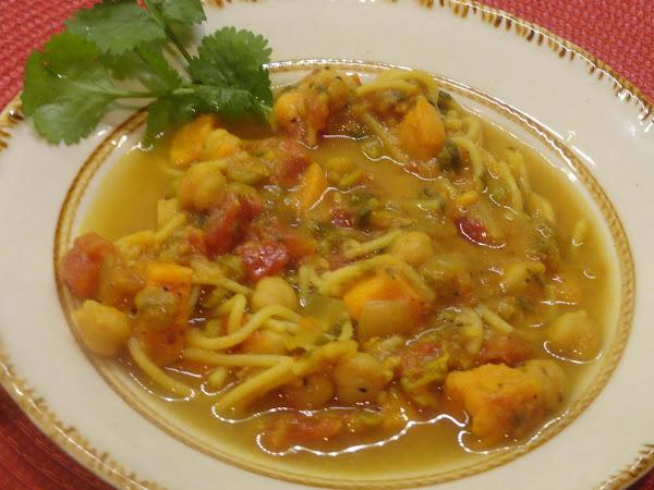 Sweet Potato Harira Maghreb Recipe