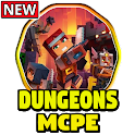 Dungeons Craft Mod for Minecraft PE icon