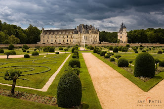 Photo: Once Upon a Time, Loire Valley, France#landscapephotography  #travel  #photographytips BEST VIEWED LARGEOn our second day we spend all day at this beautiful location in France. The light was gorgeous as the storms were moving in and out of the region and we go some breathtaking light on this unique castle (It is build across the river). At the time they would not allow me to photograph it from inside using a tripod.How was this photograph created?This is a simple photograph to capture because I waited for the dark skies in the background and light to fall on the castle (and foreground). The composition was selected to highlight the geometrical shapes and use the rules of composition to focus attention on the castle.Question: What rules of composition did I use? ;))I would highly recommend a visit in this region of France.Enjoy & Share.___