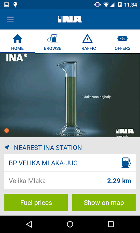 INA- screenshot