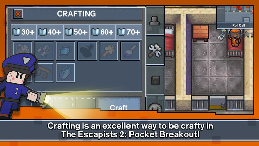 Screenshot for The Escapists 2: Pocket Breakout in Hong Kong Play Store