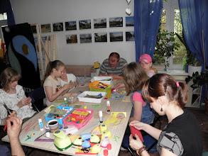 Photo: sobotni warsztat przed Dniem Matki