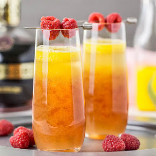 Mango & Raspberry Mimosa