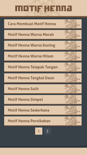 Download Gambar Motif Henna Apk Latest Version App By Marvin Z For Android Devices
