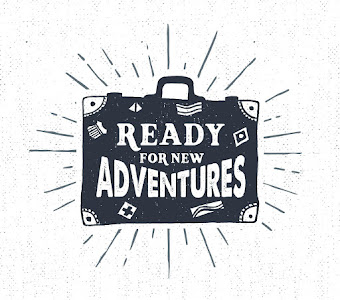 Ready for New Adventures Stock Image