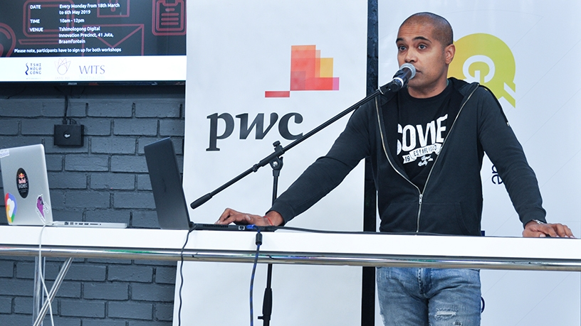 Nithen Naidoo, founder and CEO of Snode Technologies.