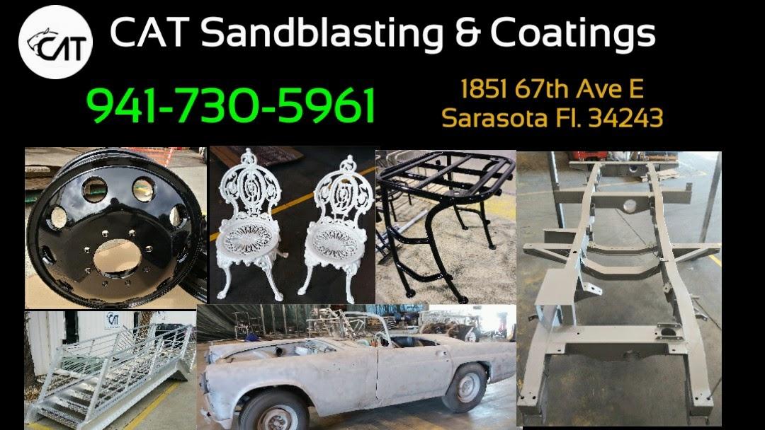 Cat Sandblasting Coatings Sandblasting Powdercoating