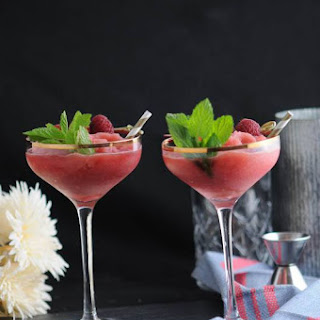 Watermelon Raspberry Frose (Frozen Rose) Recipe