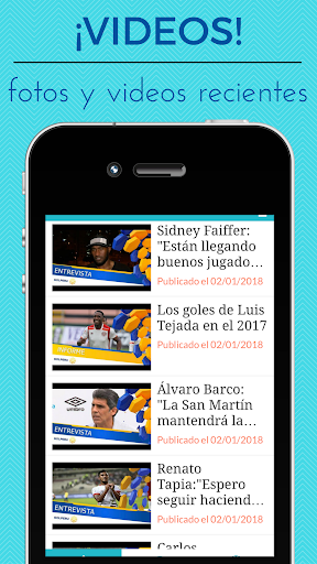 Garcilaso Noticias - Futbol del Real Garcilaso 1.0 screenshots 3