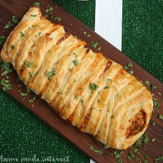 Chicken Taco Braid