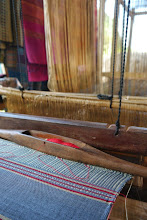 Photo: Weaving loom