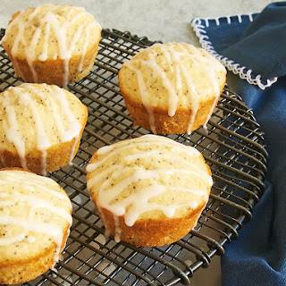 Triple Citrus Poppy Seed Muffins