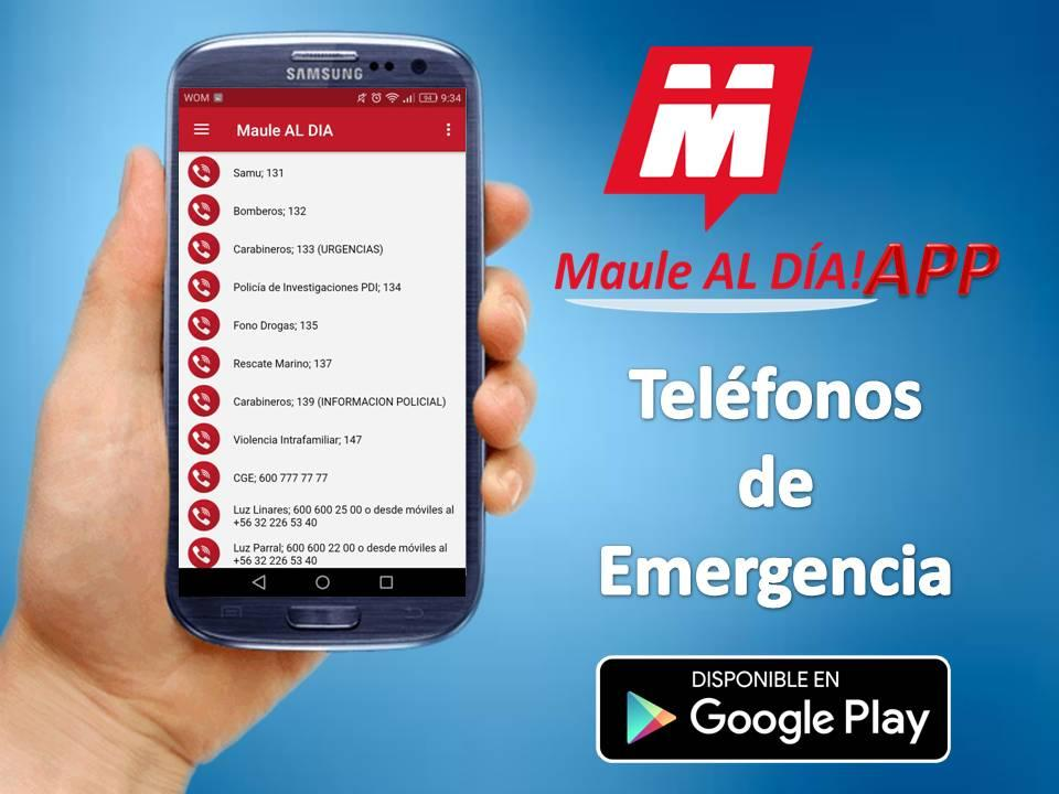 Maule Al Día- screenshot