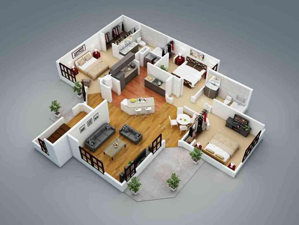 3d home plan designs - android apps on google play - Simulation Construction Maison 3d Gratuit