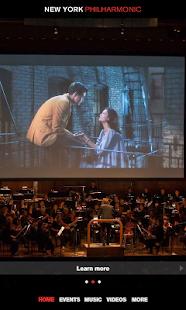 New York Philharmonic screenshot