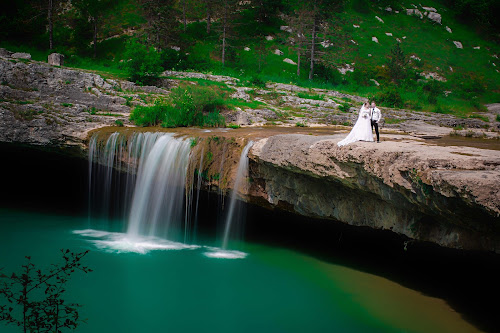 T&M by Jurica Žumberac - Wedding Other ( water, waterscape, wedding, waterfall, bride, landscape, groom )