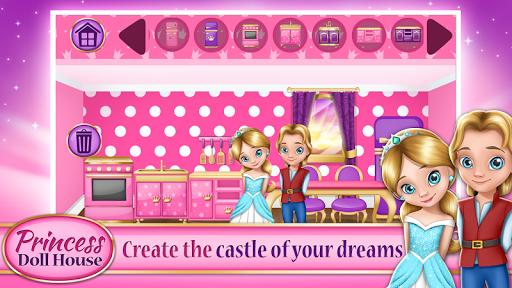 Princess Doll House Games