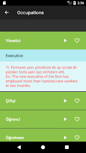 Learn Turkish: Free Offline Audio Dictionary - náhled