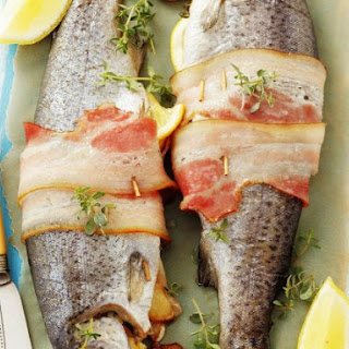 Stuffed Whole Fish with Thyme.