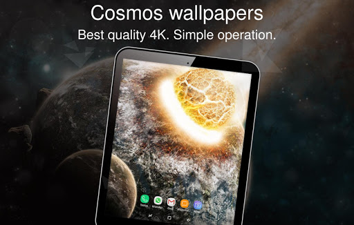 Cosmos wallpapers 4k 1.0.13 screenshots 7