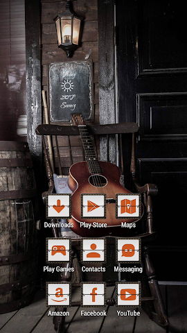 android Quiet Guitar on the Chair Screenshot 1