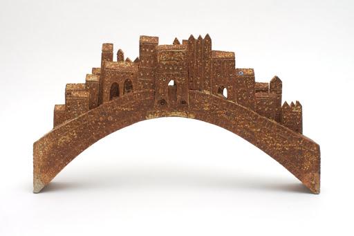 Bryan Newman Ceramic Sculpture 'Rialto Bridge' 008