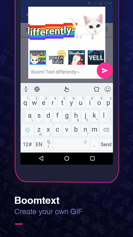 TouchPal Emoji Keyboard- screenshot