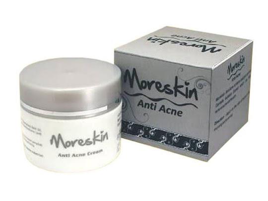 Moreskin Anti Acne NASA CREAM JERAWAT membersihkan mengatasi jerawat dan bekas jerawat