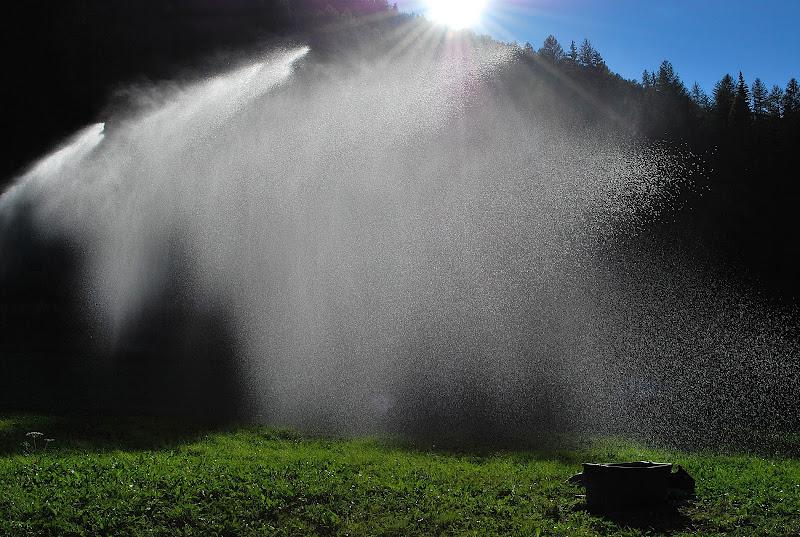 irrigare i campi in montagna di Elisabetta Castellano