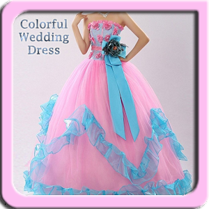 Colorful wedding dress design android apps on google play Wedding dress design app