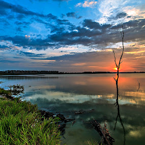 Calmness by Jali Razali - Landscapes Waterscapes (  )