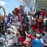 group gatherings at Anime North 2014 in Mississauga, Ontario, Canada