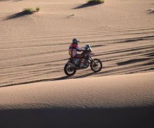Brute pech, leider in Dakar voor motoren moet alweer opgeven