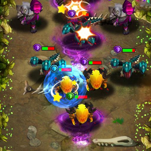 Tap defender : Heroes magic defense (game)