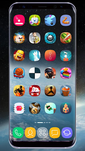 GX S8 Icon Pack Apps (apk) kostenlos herunterladen für Android/PC/Windows screenshot