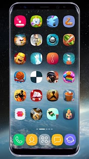 GX S8 Icon Pack Applications pour Android screenshot