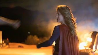 Supergirl: On the Set