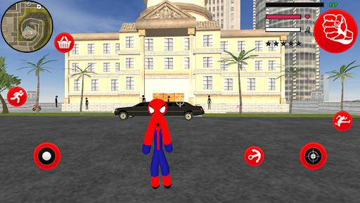 Amazing Spider-StickMan Rope Hero Gangstar Crime filehippodl screenshot 6
