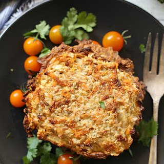 Cauliflower Rice Paleo Fritters Baked In Minutes!.